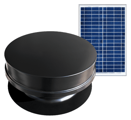 Remote Series Solar Attic Fan