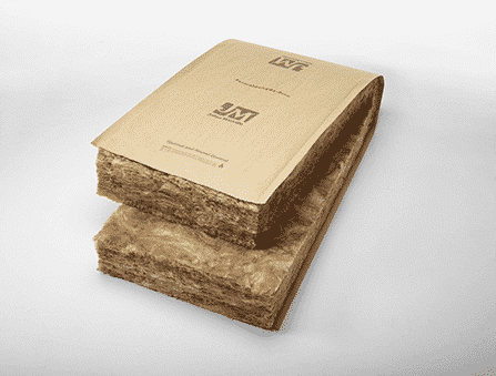 JM Unfaced Formaldehyde-free™ fiberglass insulation offers R-values ranging from R-11 to R-38